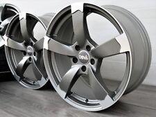 Für VW Passat 3C 3C2 3C5 B6 B7 B8 3G 16 Zoll Alufelgen DBV Torino ET45 Grau Matt