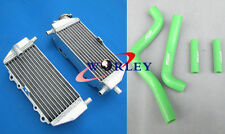 Aluminum Radiator+ hose FOR Kawasaki KX125 1994-2002 /KX250 1994-2002 2001 2000