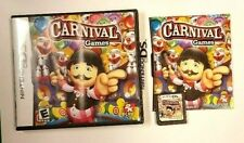 Nintendo DS 2K Play CARNIVAL GAMES (2008) Video Game COMPLETE in CASE