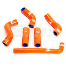 SAMCO SET MANCHON TUYAUX RADIATEUR ORANGE KTM EXC 425 F 2001-2007