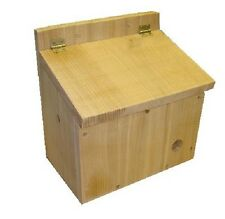 BUMBLE BEE BOX - BEE NESTER - BEE HOUSE - PREMIUM QUALITY - CEDAR - BEE HABITAT