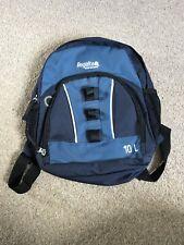 Navy Blue Regatta 10L Rucksack Day Sack Bag Child Kids Lady