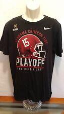 Alabama Crimson Tide Nike Men's Playoff The Best 4 Last T-Shirt Size Large