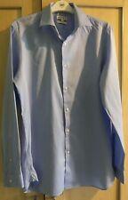 Reiss Slim Fit Blue Shirt - Size M - 100% Cotton - VGC