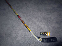 BRAD MARCHAND Boston Bruins SIGNED Auto Hockey Stick w/COA 1st NHL Goal 11-3-10