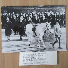 PHOTO DE PRESSE ANGLETERRE FAMILLE ROYALE 1936 TRANSFERT DU CORPS DE GEORGES V