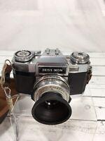 Zeiss Ikon Contaflex S-matic 35mm Camera Tessar 50mm f2.8 LensFaulty Shutter