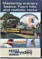 Kalmbach 15301 Mastering Scenery Basics: Foam Hills and Realistic Rocks DVD