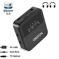 Auto Bluetooth Audio 5.0 Receiver Transmitter  TV / car / SPDIF / 3.5mm Adapter