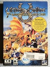Ultima Online 7th Anniversary Edition Complete Inserts Map 3-discs Excellent