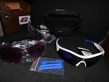 Rennrad Radbrille Force RACE,    weiss/blau, NEU