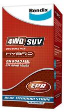 Bendix Front Brake Pad FIT Daihatsu Feroza 1.6 SE,ST,SX 92-99