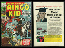 RINGO KID #4 (Marvel 1970) HERB TRIMPE  VG/FN