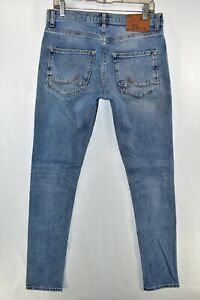 LTB Smarty Super Skinny Fit Low Rise Jeans Mens Size 30x34 Blue Meas. 31x34.5