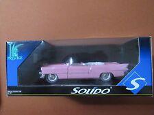 Solido Diecast 1:18 1955 Cadillac Eldorado Pink Conv NIB
