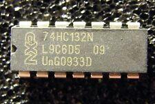 10x 74hc132n quad 2-input NAND Schmitt disparador, NXP