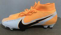 Nike Mercurial Superfly 7 Pro Fg Soccer Cleats Laser Orange (AT5382-801) Size 13