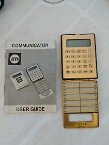 Vintage Phone Tone Dialler. IITL Communicator
