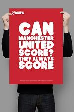 Manchester United Famous Quotes - Limited Edition A3 Art Posters