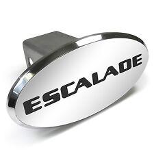 Cadillac Escalade Engraved Oval Chrome Aluminum Tow Hitch Cover
