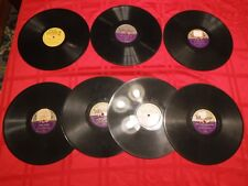Lot 7 Square Dance Country Vinyl 78 RPM Records Windsor Old Timer Sundowners G+