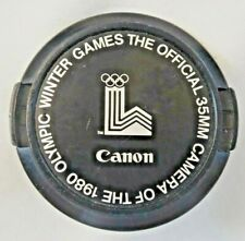 Canon 52mm 1980 Olympic Winter Games  Lens Cap. Made in Japan  B1