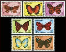 CAMBODGE N°941/947** Papillons 1990 CAMBODIA 1064-1070 Butterflies NH Kambodscha