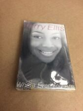 TERRY ELLIS WHERE EVER YOU ARE FACTORY SEALED CASSETTE SINGLE 2