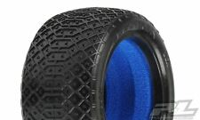 """Proline Electron 2.2"""" MC (Clay) Off-road Buggy Rear Tires (2) (with Inserts)"""