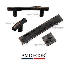 Amdecor Vintage Orb Oil Rubbed Bronze Cabinet Pull Handle knob Hardware designer