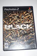Black ORIGINAL (Sony Playstation 2 ps2) Complete