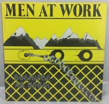 MEN AT WORK- BUSINESS AS USUAL- VINYL LP COLUMBIA