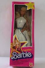 MATTEL Vtg 1976 SUPERSTAR BARBIE w/White Silver Clothing & Jewelry / Box 18""