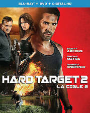 HARD TARGET 2 (Blu-ray/DVD, 2016, 2-Disc Set,Includes Digital Copy) WITH SLEEVE