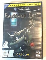 Resident Evil Nintendo Gamecube Game Complete Tested & Working Players Choice