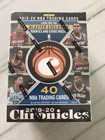 2019-2020 Panini Chronicles NBA Basketball Blaster Box Zion Rookie RC Ja Morant