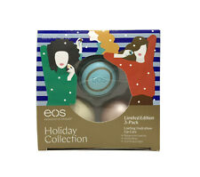 EOS Lip Balm Holiday Collection Limited Edition 3 Pack ~ Each 7g/0.25oz.