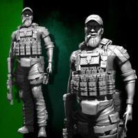 1/35 Resin Soldier Navy Seal Assault Team Military Figure Model Kit Unpainted