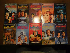 More details for star trek the next generation 1-10 book set first edition great condition