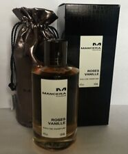 MANCERA ROSES VANILLE EDP 120 ml/4 oz in Box, free shipping