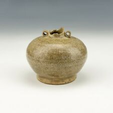 Antique Chinese Pottery - Song Dynasty Celadon Crackle Glazed Miniature Vase
