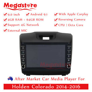 """9"""" Octa Core Android 10.1 Car Player For Holden Colorado 2014-2016 apple carplay"""