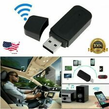 Wireless USB Bluetooth 2.0 Audio Stereo Music Receiver 3.5mm AUX Dongle Adapter
