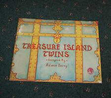 1938 Paper Doll Book Treasure Island Twins Adoree Berry Un-used GGIE