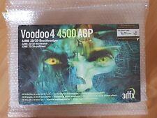 3dfx Voodoo 4 4500 AGP NEU, versiegelt und ungeöffnet Voodoo4 4500 AGP 32MB