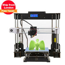 2019 3D Printer A8 High Precision Self Assembly DIY kit LCD- PLA/ABS -UK stock