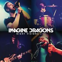 IMAGINE DRAGONS - NIGHT VISIONS LIVE  CD + DVD NEW+