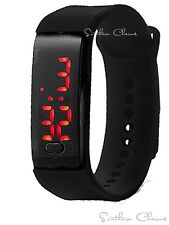 Justice Girls Silicon LED Watch New With Tags