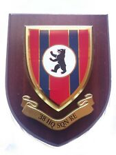 38 HQ Sqn Royal Engineers Military Wall Plaque UK Made for MOD