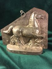 RARE! Very Large Early Horse Chocolate Mold Mould ~ Sommet